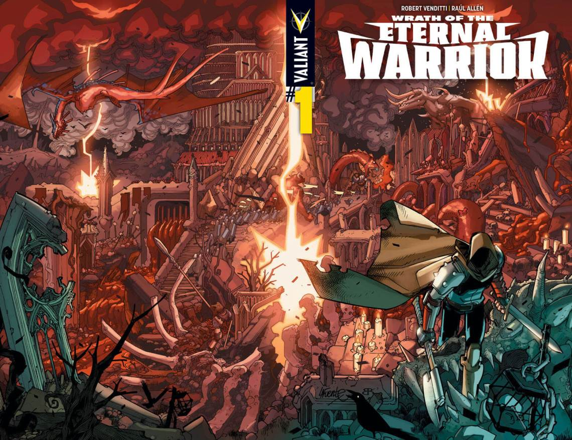 WRATH OF THE ETERNAL WARRIOR #1 – Cover A (Wraparound) by David Lafuente