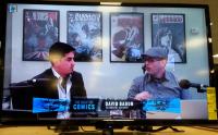Host Jacob Rivera with David Baron