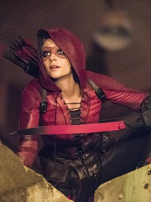 Thea suits up for Season 4.