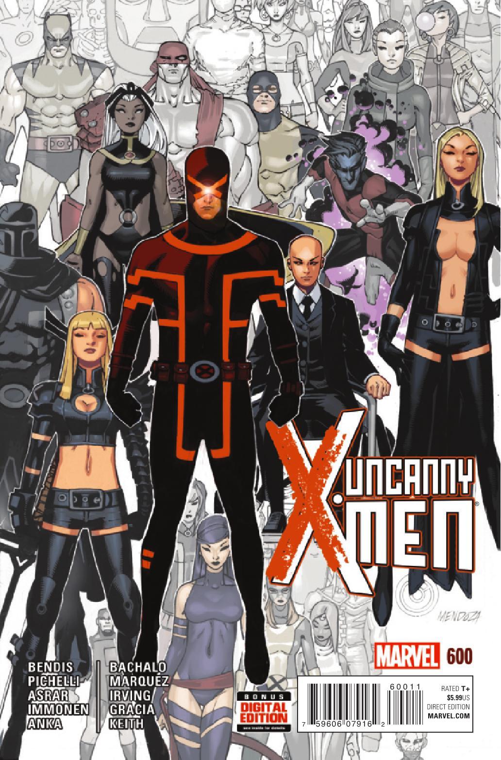 First Printing Uncanny X-Men #600 Marvel Comics 2015