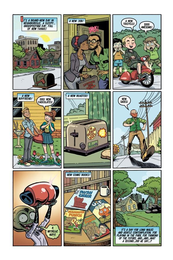 Preview: Plants Vs. Zombies: Garden Warfare #1 - All-Comic.com