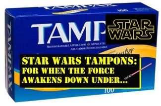 Star Wars Tampons