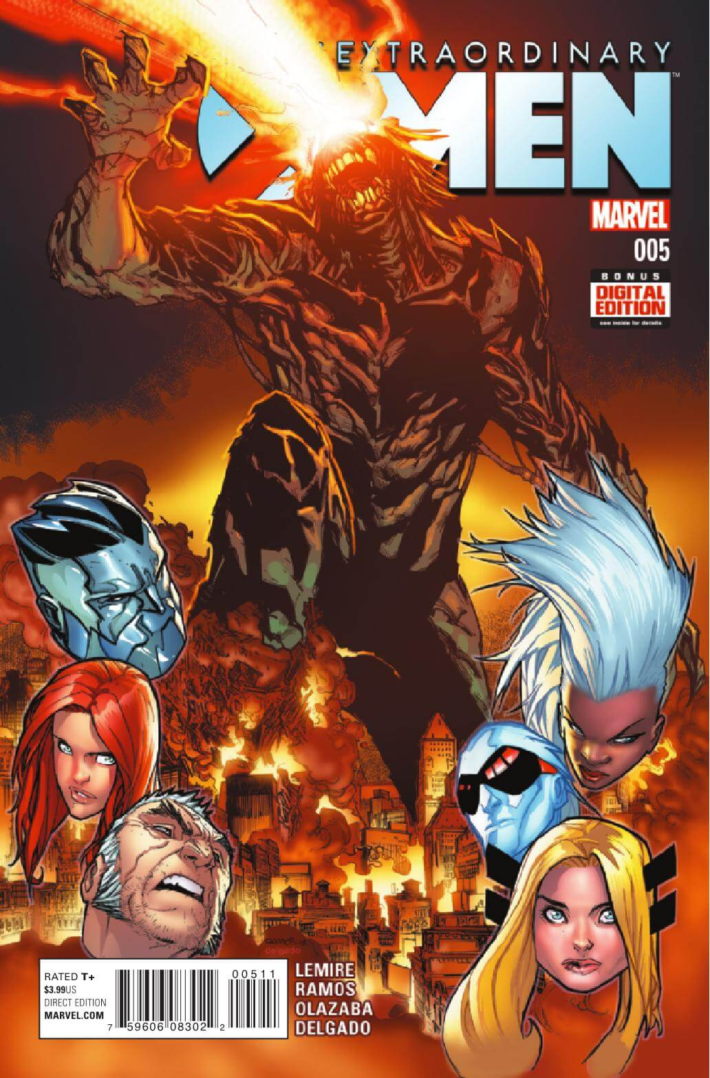 EXTRAORDINARY X-MEN #5