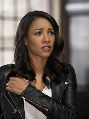 It was Iris' turn to deal with the estranged Wally West this week.