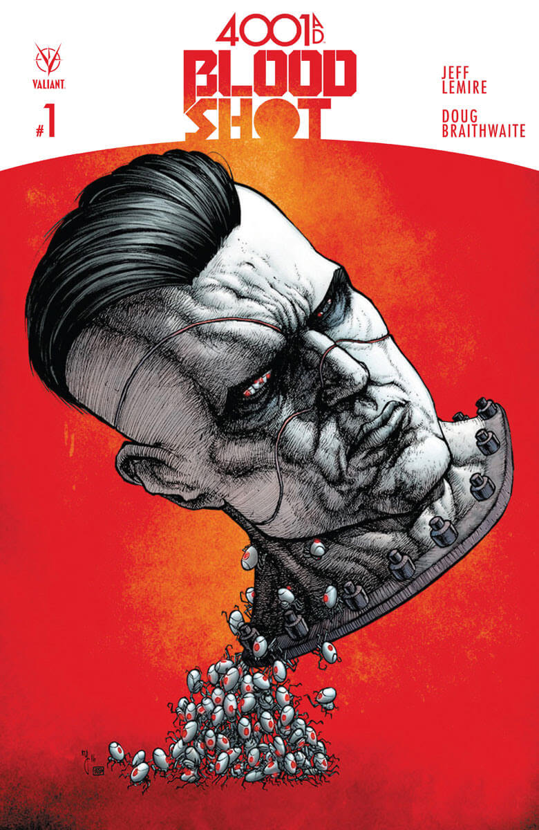 4001 A.D.: BLOODSHOT #1 – Cover A by Ryan Lee