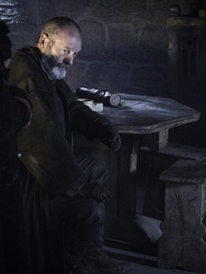 Davos is in a tight spot...