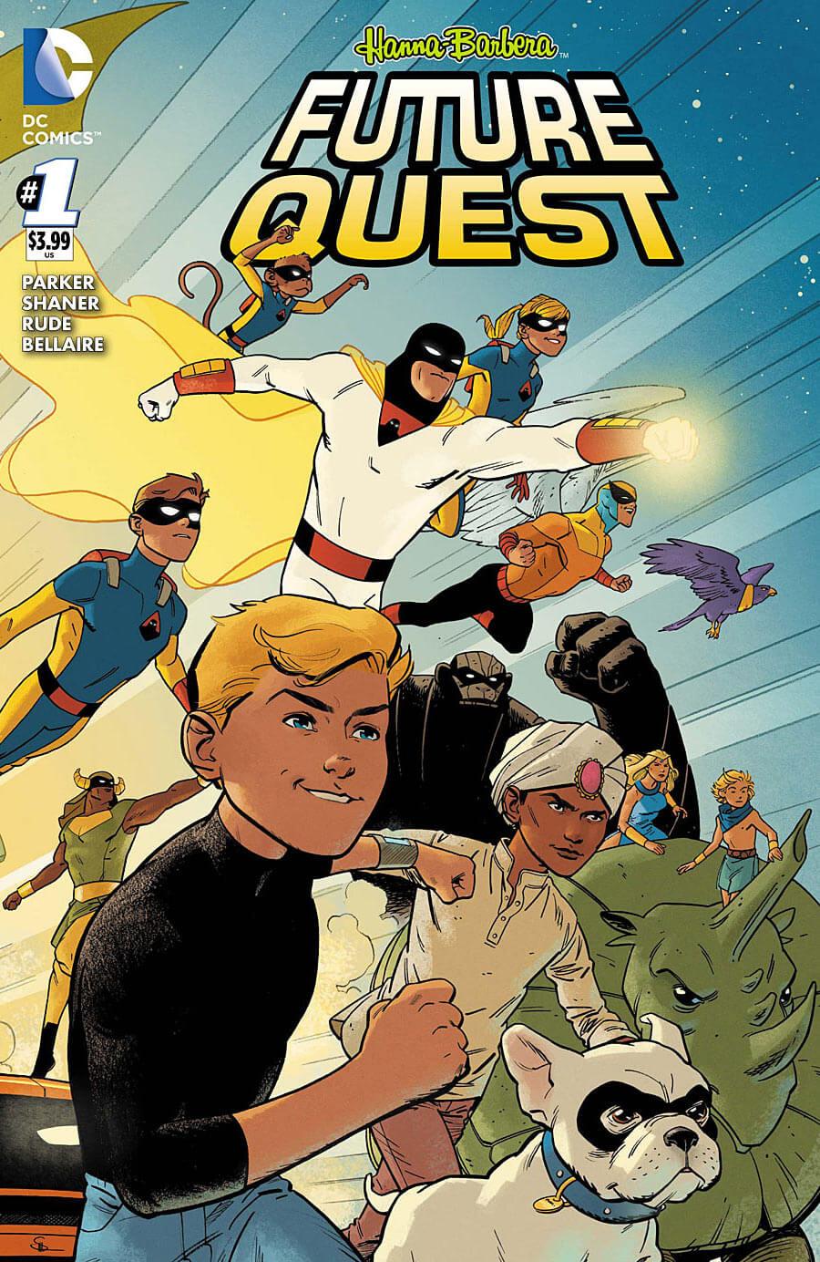 Future Quest #1 Cover