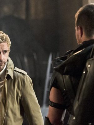 Matt Ryan's John Constantine makes the leap into the Arrowverse....