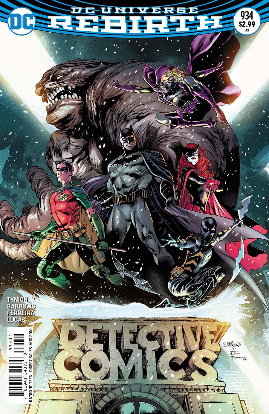 Detective Comics #934 Cover
