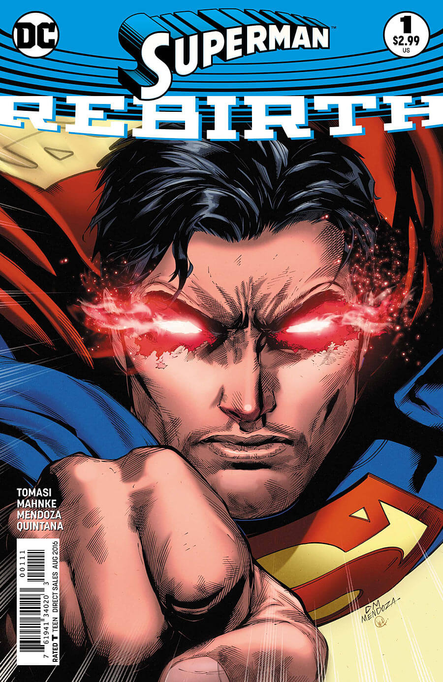 Superman Rebirth Cover