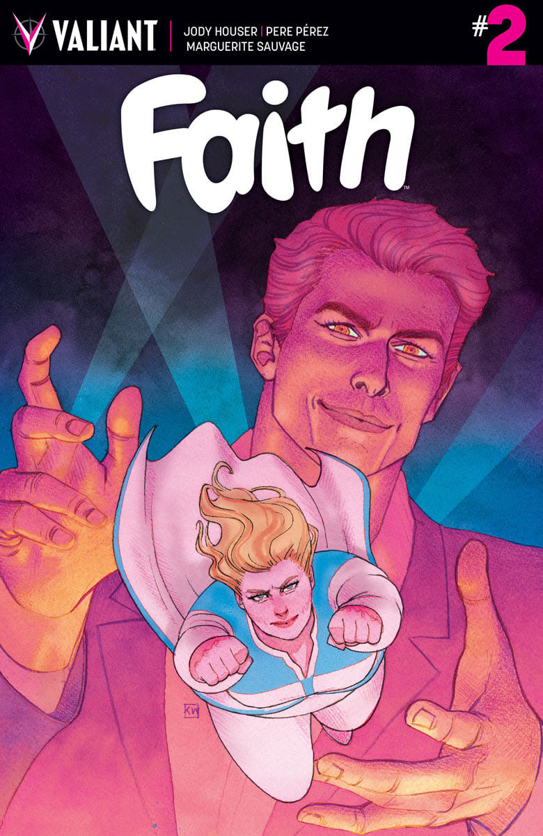 FAITH #2 – Cover A by Kevin Wada