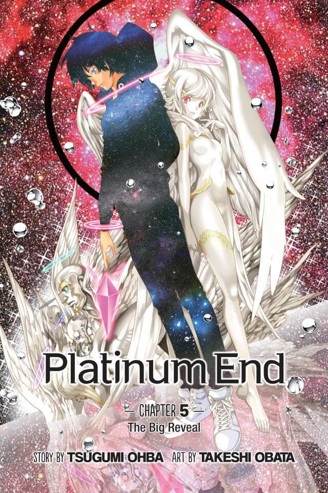 Platinum End ch. 5 cover