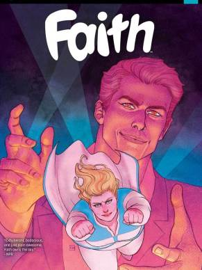 FAITH #2 SECOND PRINTING – Cover by Kevin Wada
