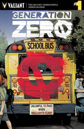 GENERATION ZERO #1 SECOND PRINTING – Cover by Stephen Mooney
