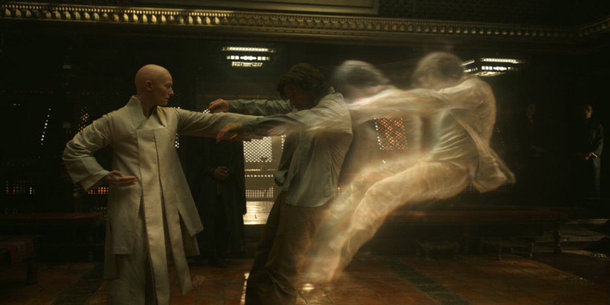 Doctor Strange has an out of body experience for the first time.