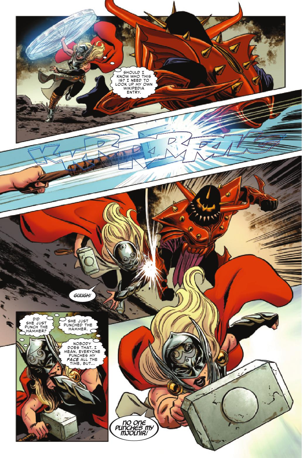 preview the mighty thor 14 all comic com