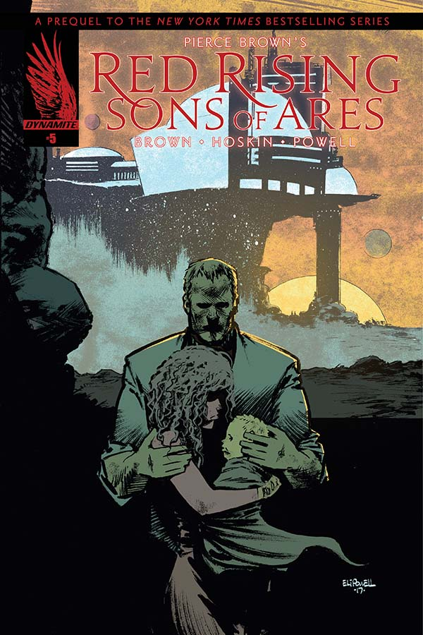 Pierce Browns Red Rising Sons Of Ares 5 All Comic