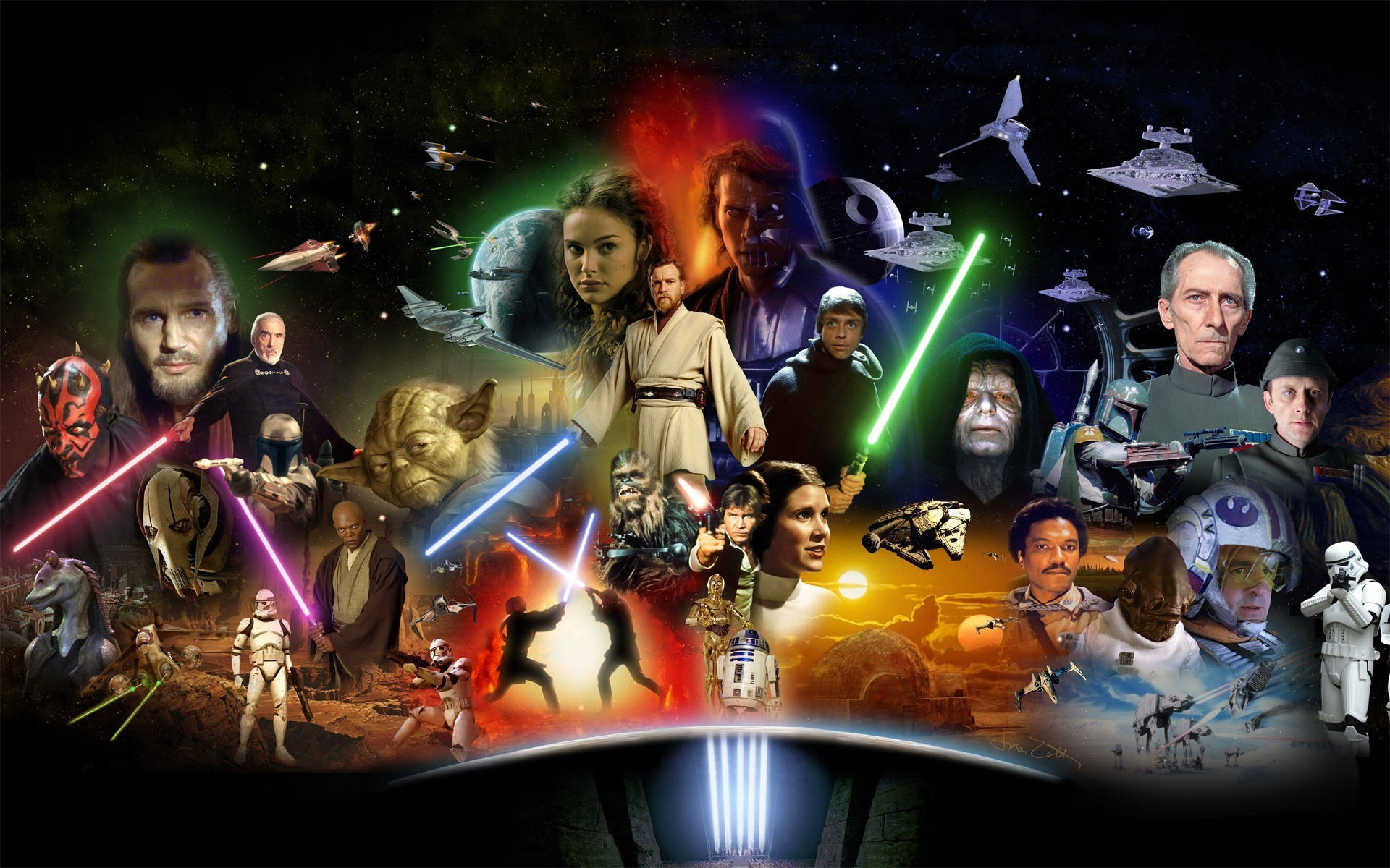 Star Wars Novel Timeline - All