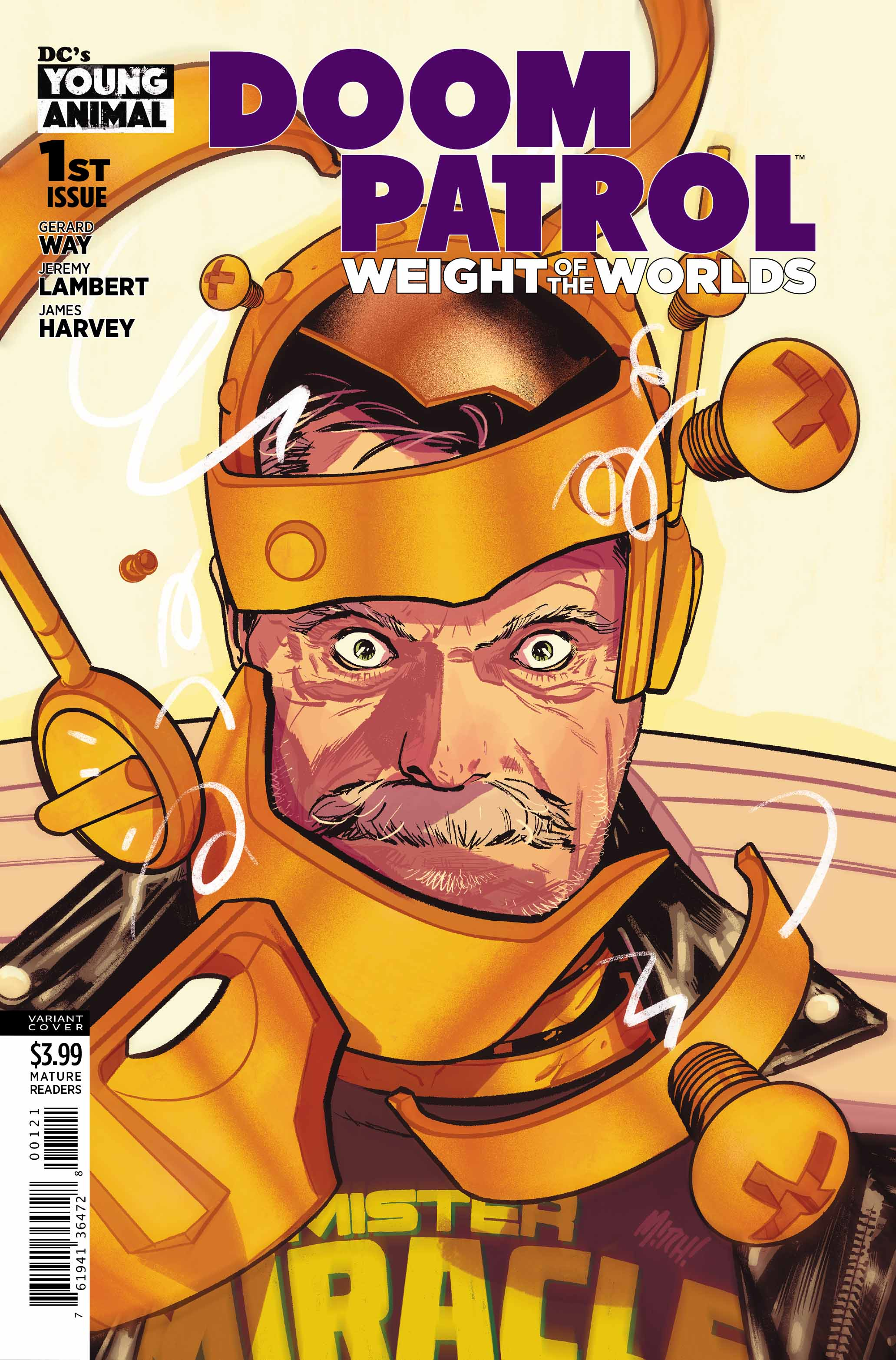Doom Patrol Weight of the Worlds #1