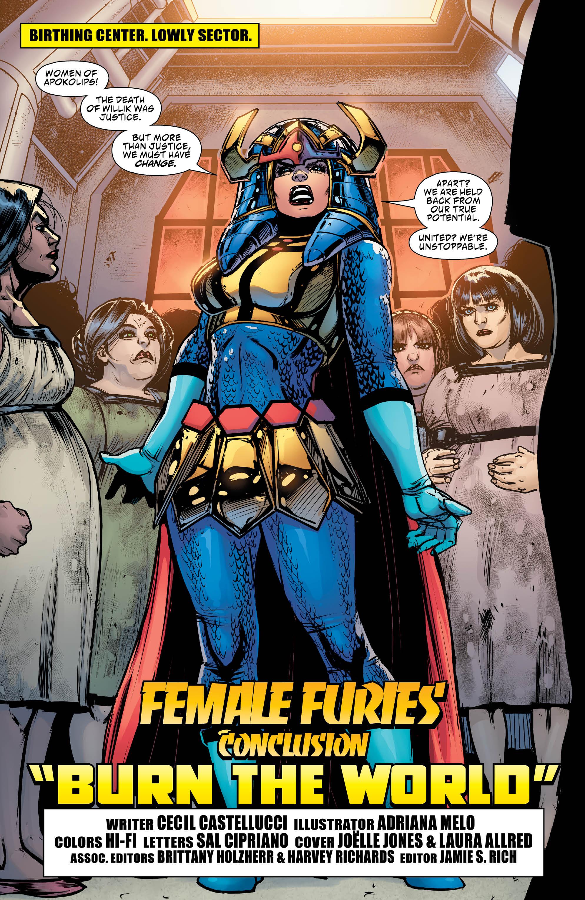 Female Furies #6