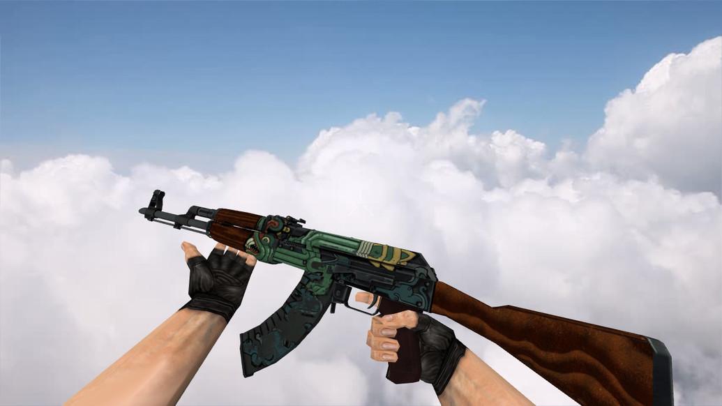 Модель «AK-47 Fire Serpent» для CS 1.6 - скачать на All-CS.ru