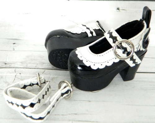 Туфли для кукол на платформе