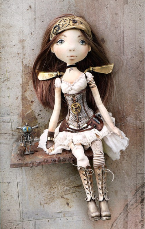 Стимпанк-принцесса Диана. Автор: Яна Яхина