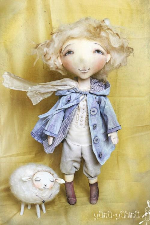 Кукла Маленький принц. Автор: Яна Яхина