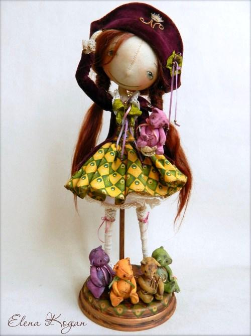 Елена Коган. Кукла Joséphine