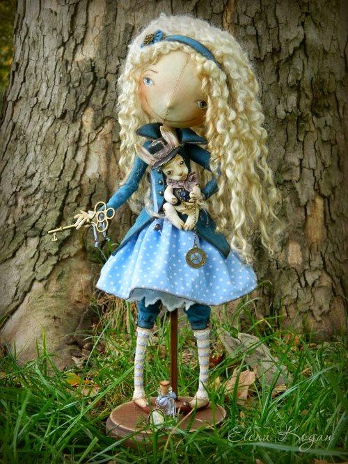 Елена Коган. Кукла Алиса