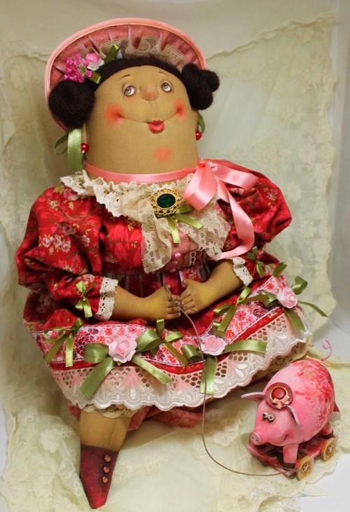 Кукла: Дамы на прогулке Автор: Татьяна Козырева