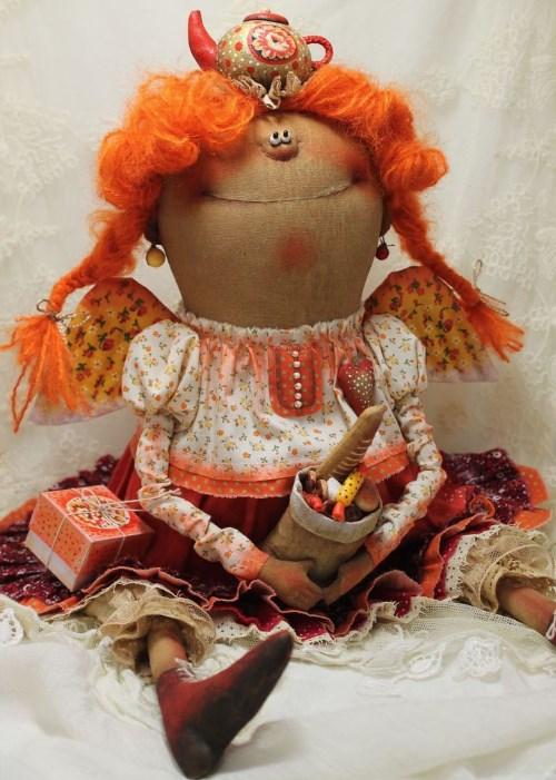 Кукла: Чаёк пить будем!!! Автор: Татьяна Козырева