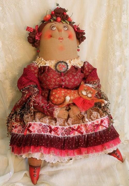 Кукла: Ягодка Автор: Татьяна Козырева