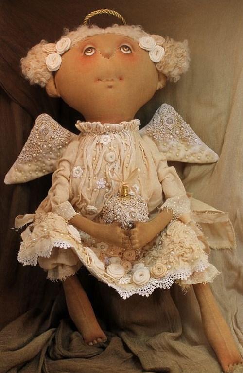 Кукла: Ангел Рождественский Автор: Татьяна Козырева