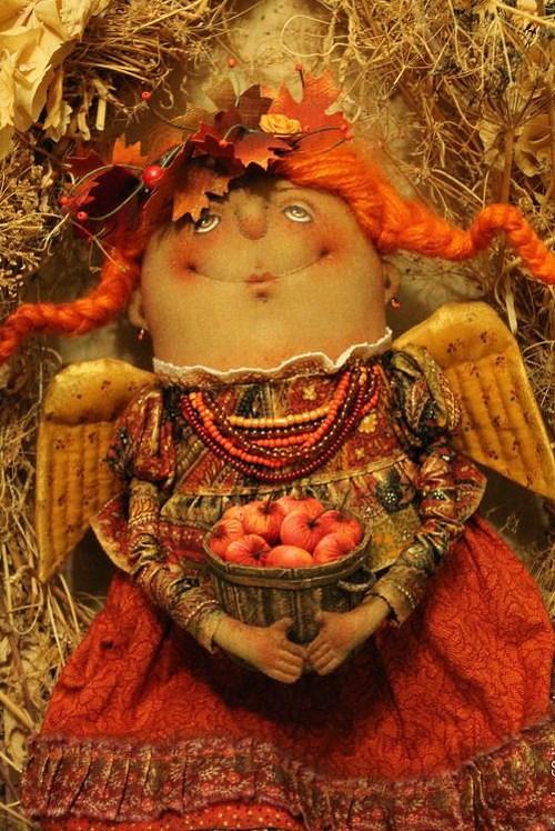 Кукла: Багряная Осень Автор: Татьяна Козырева