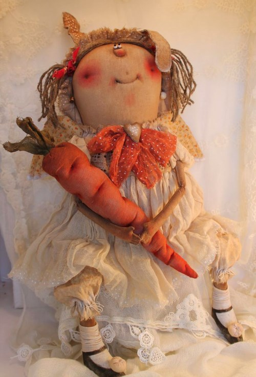 Кукла: Ангел.Зайка моя! Автор: Татьяна Козырева