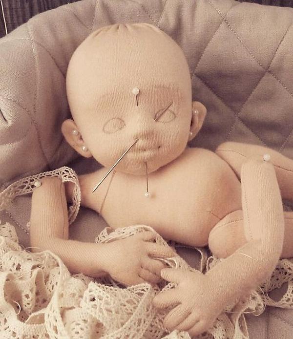 Детали текстильной куклы