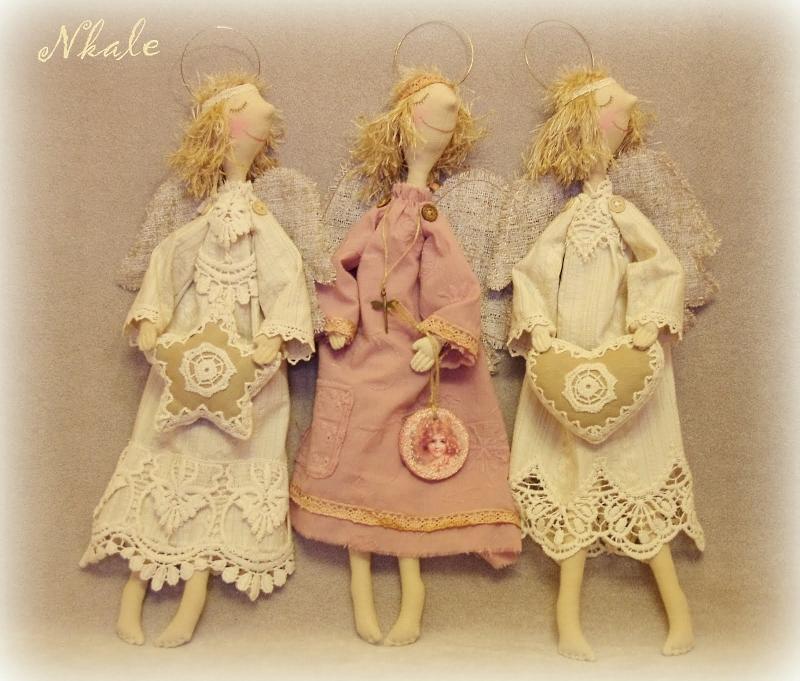 выкройка куклы Nkale