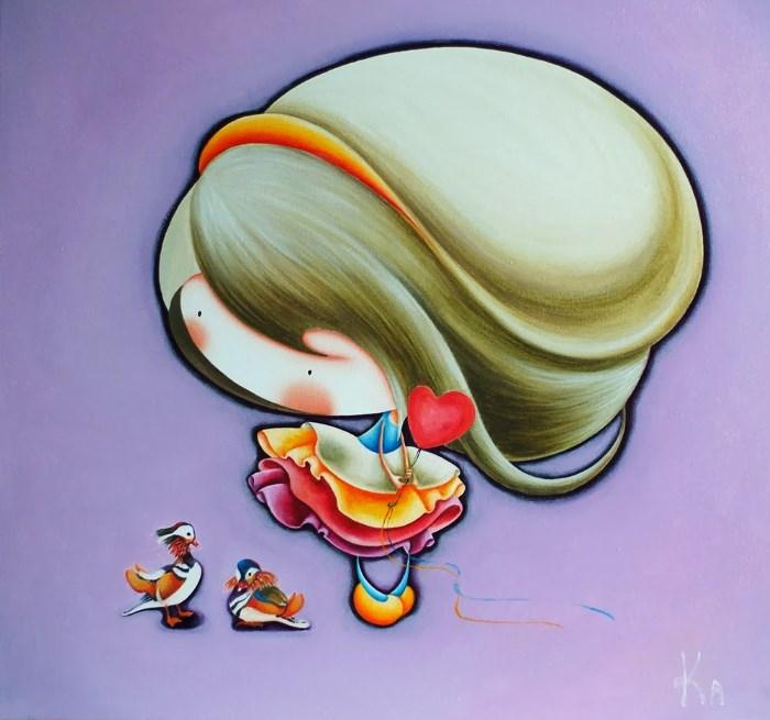 Картина: Волшебные мандаринки