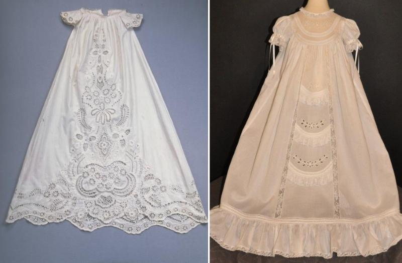 Вышивка Ришелье на платье