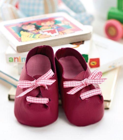 Кукольные ботинки выкройка