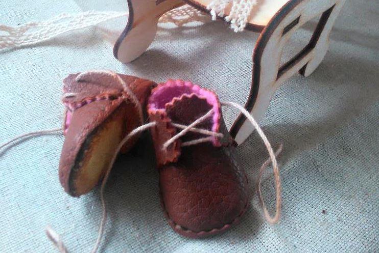 МК ботиночки для куклы