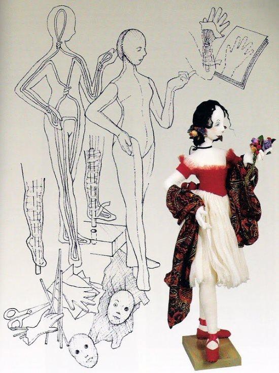 каркасная кукла мк