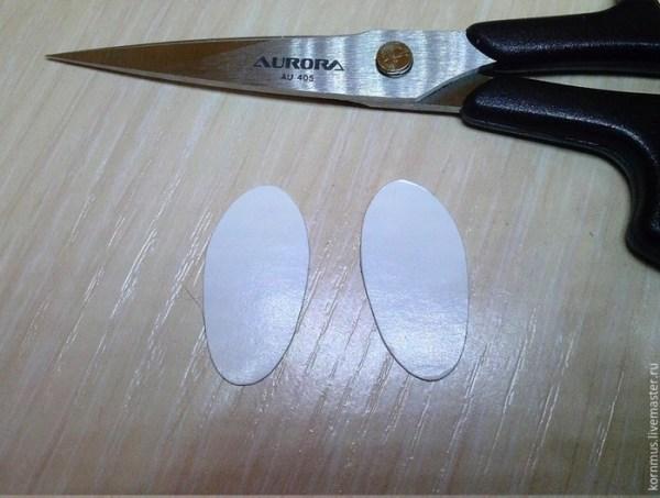 выкройка кукольной обуви