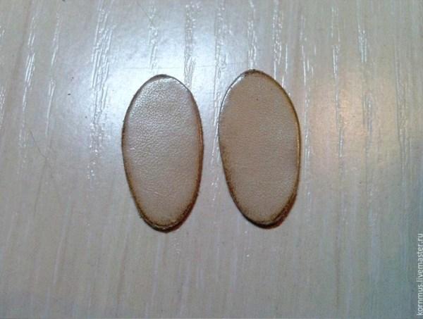 обувь из кожи для куклы