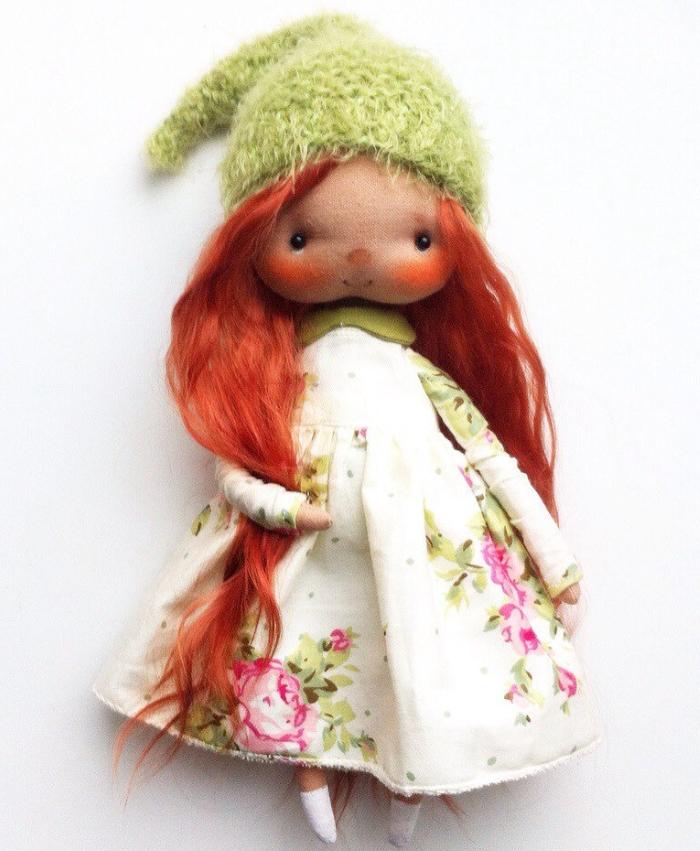 Кукла из ткани Бурмаковой Ольги