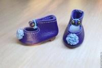 МК: Мини-туфли для куклы