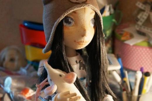Как сделать куклу на проволочном каркасе МК