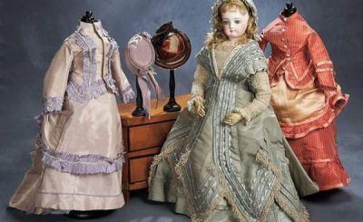 Выкройки старинных платьев для кукол