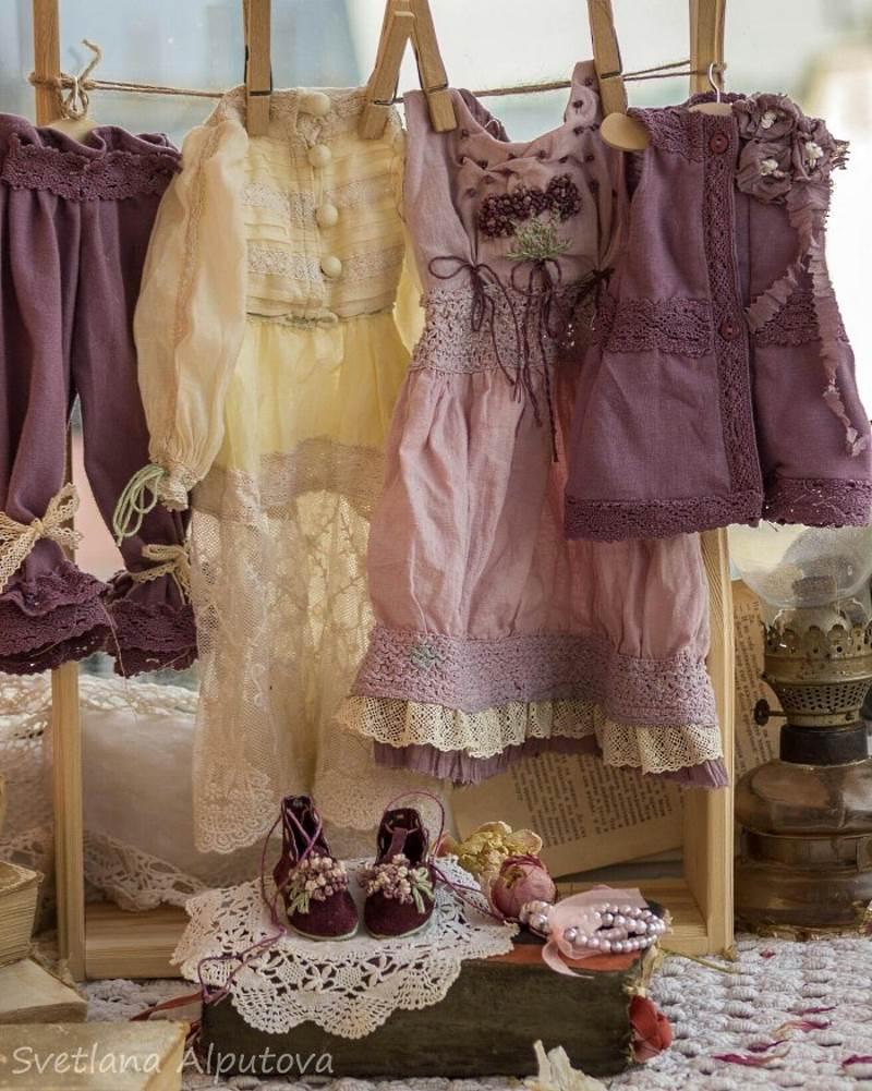 Одежда для кукол от Светланы Алпутовой